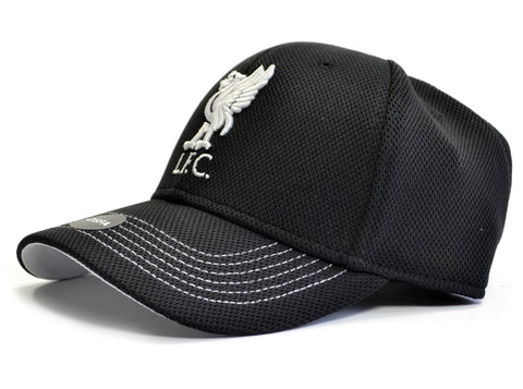 Liverpool Fabric Detailed Liverbird Baseball Cap Black
