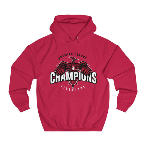 Big Bird LFC Champions 19/20 Hoodie (White Text)