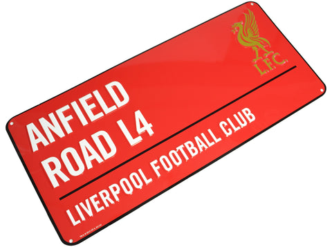 Liverpool Colour Metal Street Sign