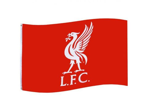 Liverpool Core Crest Flag 5 x 3