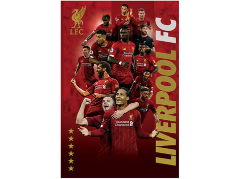 Liverpool Squad Poster