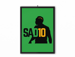 SAD10 Print (Black/Yellow) - A3, A4 or A5