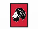 Egyptian King Print (Black/White Image) - A3, A4 or A5
