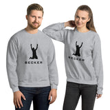 BECKER Unisex Sweatshirt - Black Design