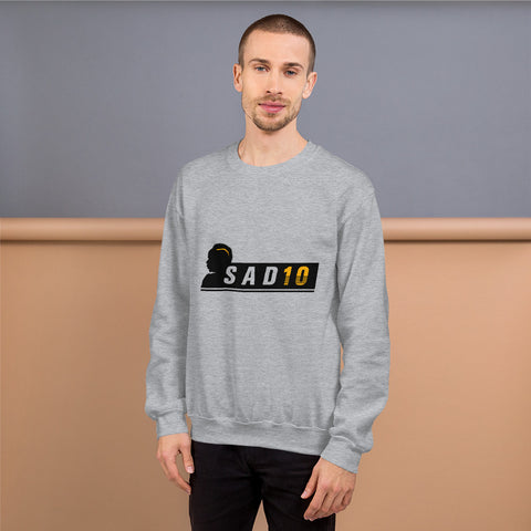 SAD10 - Unisex Sweatshirt (Black B)