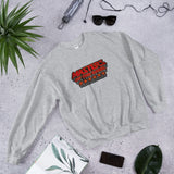 Masters Of The Game - Unisex Sweatshirt - Red & Grey Logo