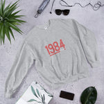Retro 1984 - Unisex Sweatshirt (Red Design)