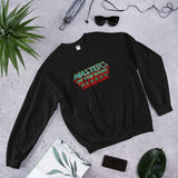 Masters Of The Game - Unisex Sweatshirt - Green & Red Logo