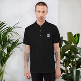 Calm As You Like - Embroidered Polo Shirt