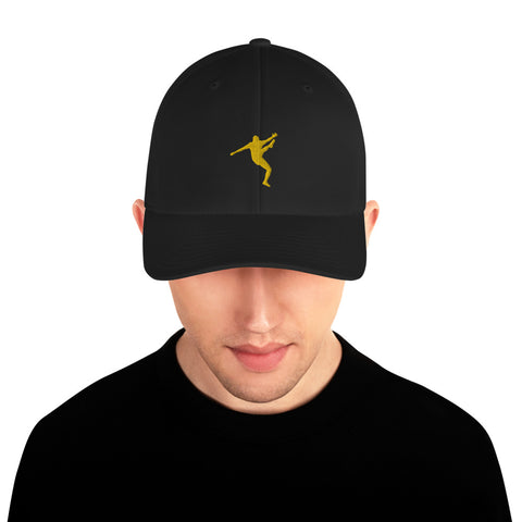 BOBBY KUNG FU - Structured Twill Cap - Yellow Design