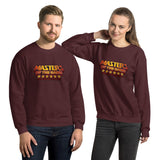 Masters Of The Game - Unisex Sweatshirt - Yellow & Red Logo
