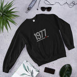 Retro 1977 - Unisex Sweatshirt - White Design