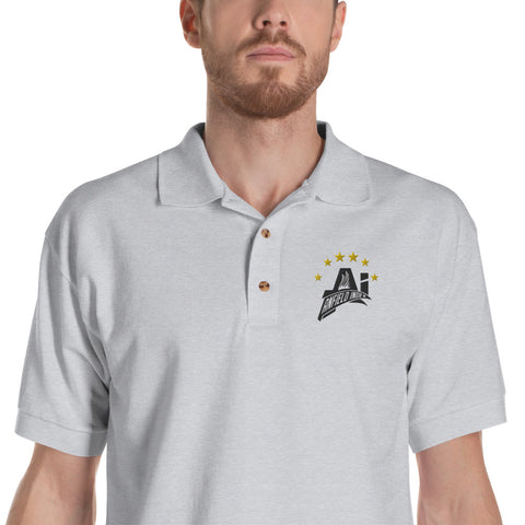 AI Polo 6 Times - Black logo
