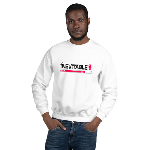 INEVITABLE - Unisex Sweatshirt (Red & Black Logo)