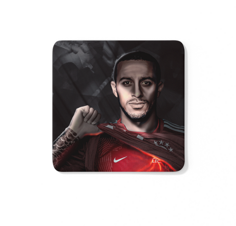 We've Been Expecting You Thiago Portrait - LFC Coaster
