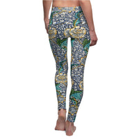 Royal Floral - Leggings