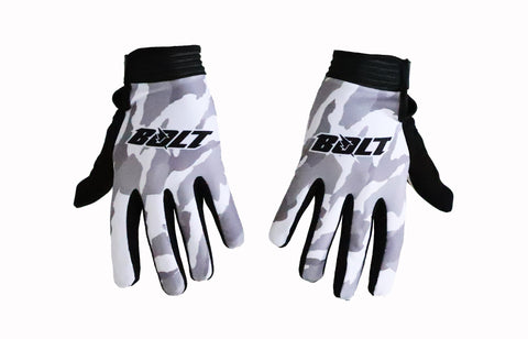 Bolt Everywear Snow Camo Gloves