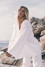 Load image into Gallery viewer, Linen Robe Blouse