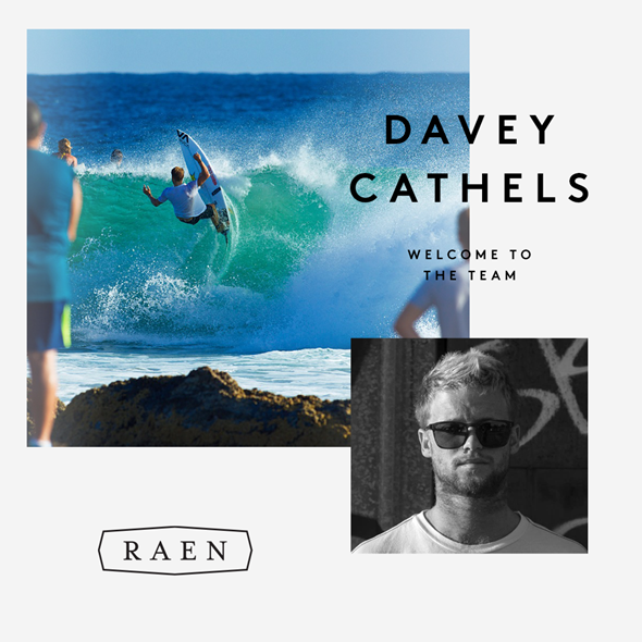 Davey Cathels Joins RAEN