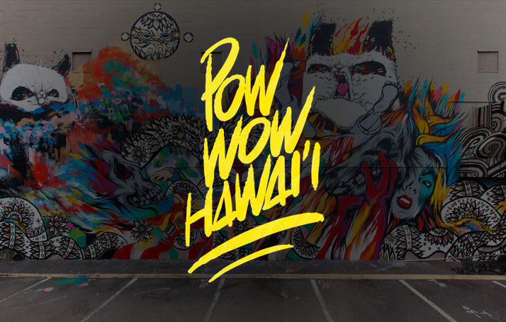 POW! WOW! Hawaii x Native Shoes