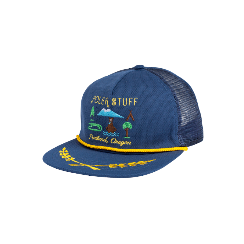 Poler Tourist Trap Petrol Blue