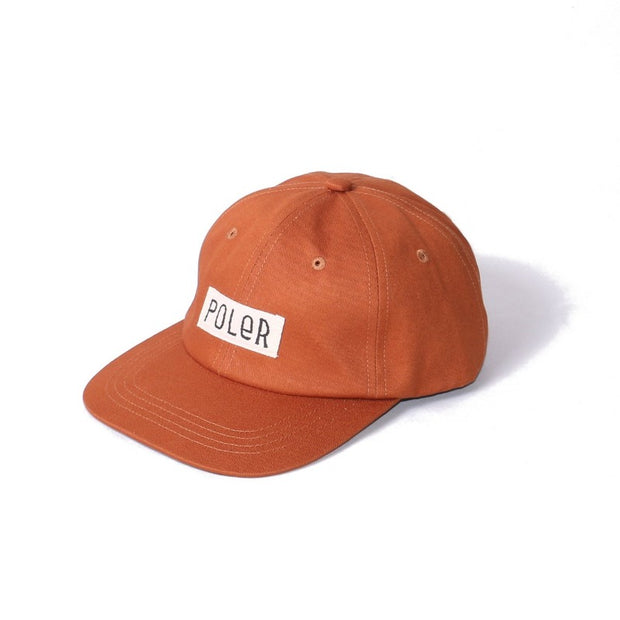 Furry Font 6panel Cap-Caramel