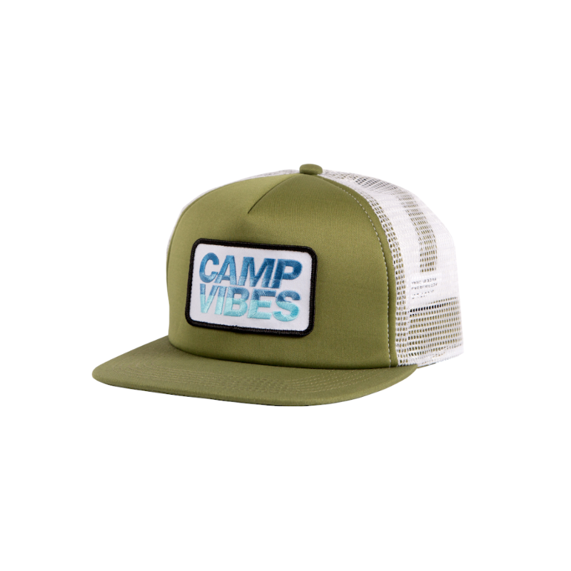 Poler Camp Vibes Trucker Burnt Olive