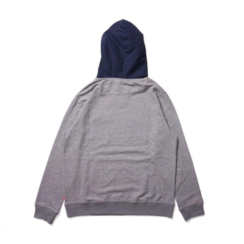 Poler Basswood Hoodie Heather Grey