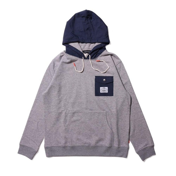 Basswood Hoodie-Heather Gray