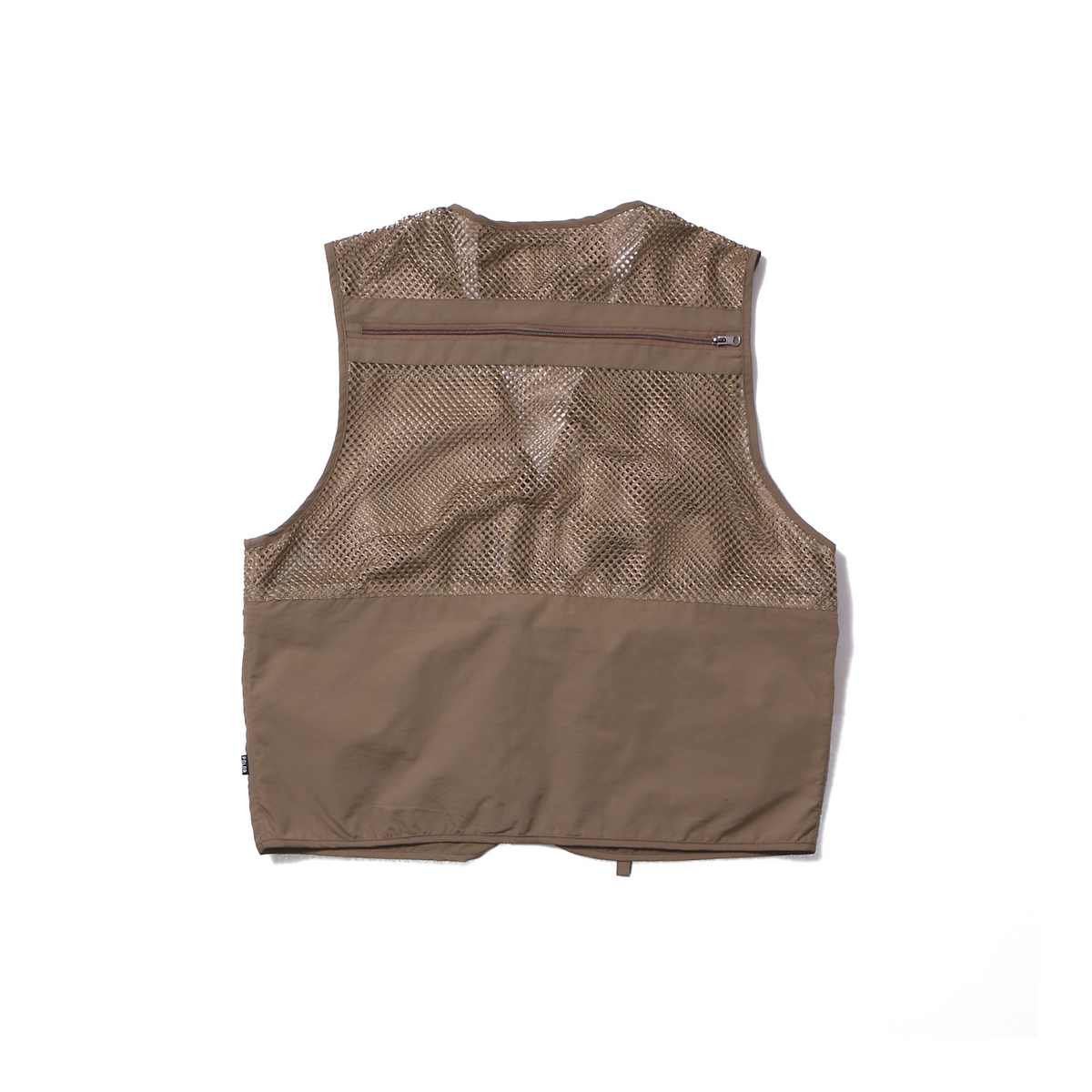 Multi Pocket Vest-Beige