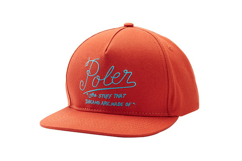 Dreams Snapback Hat - Burnt Orange