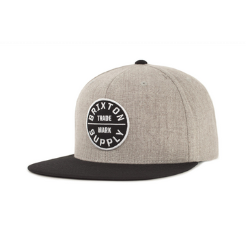 Oath III Snapback Heather Grey and Black