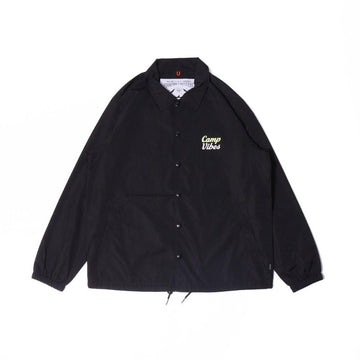 Poler Camp Vibes Coach Jacket Black