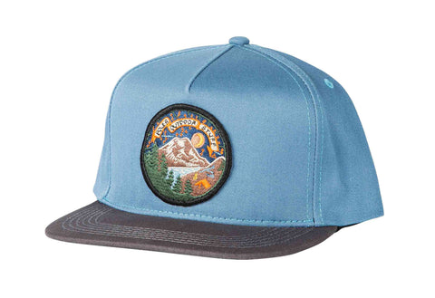 Camptime Snapback Hat - True Blue