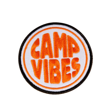 Poler Camp Vibes Patch Orange