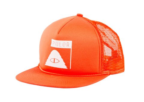 Summit Mesh Trucker - Burnt Orange