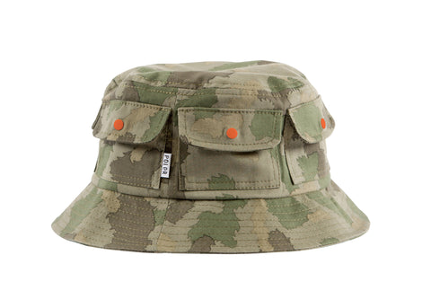 Pocket Bucket-Furry Green Camo