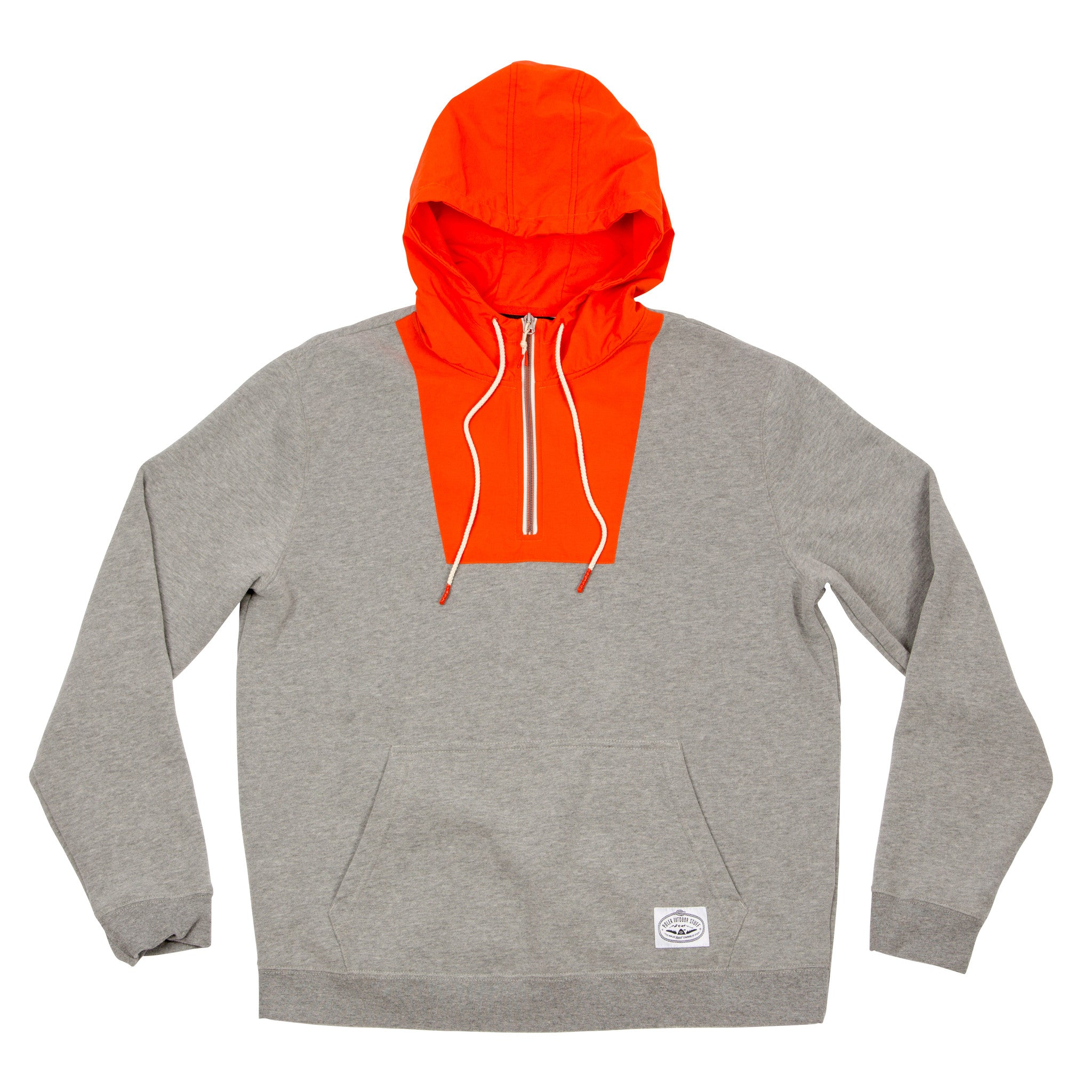 Men Bag-It Hoodie-Gray