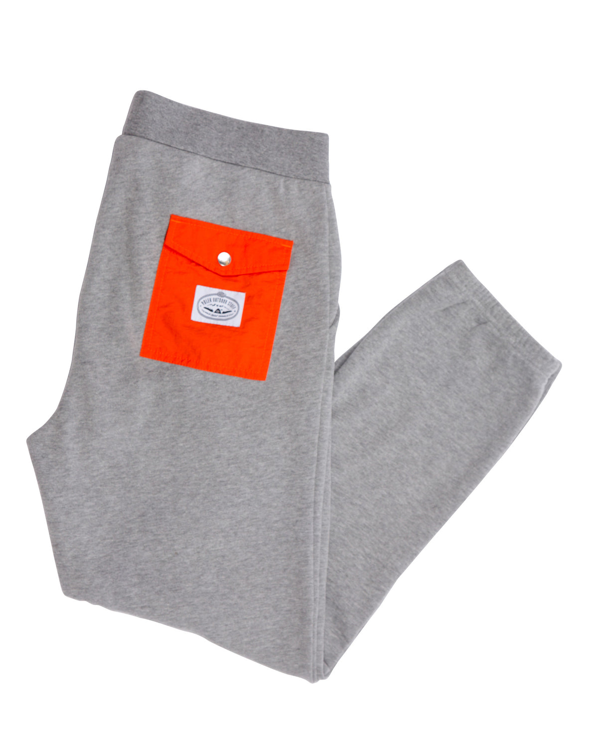 MEN BAG IT FLEECE PANTS GRAY HEATHER