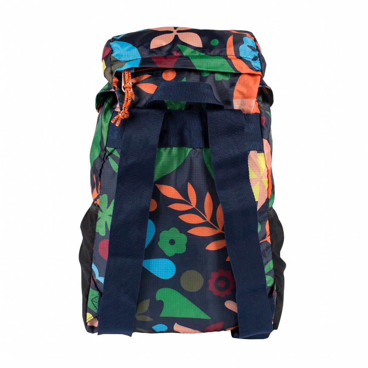 Stuffable Rucksack-Navy Rainbro