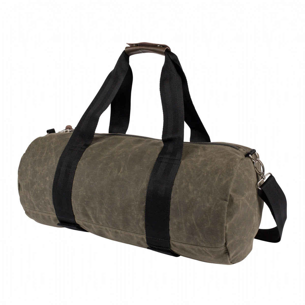 Classic Carry-On Duffel-Waxed Burnt Olive