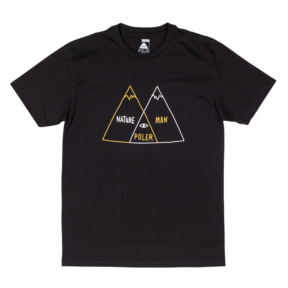 Venn Diagram Tee - Black