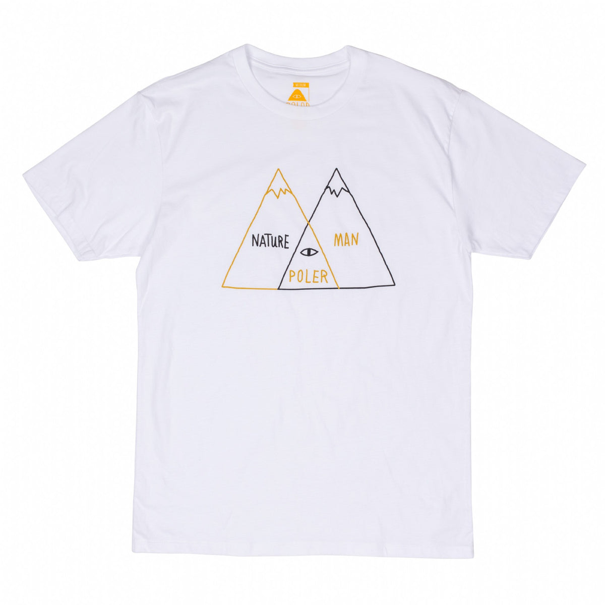 Venn Diagram Tee - White