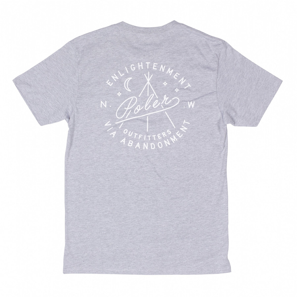 Enlightenment Tee-Gray Heather