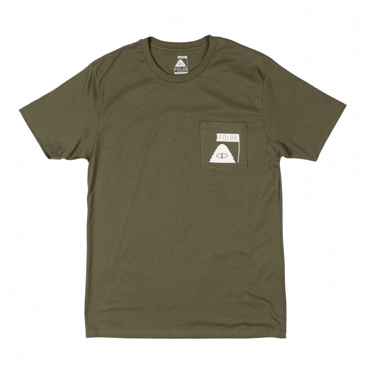 Summit Pocket Tee - Olive