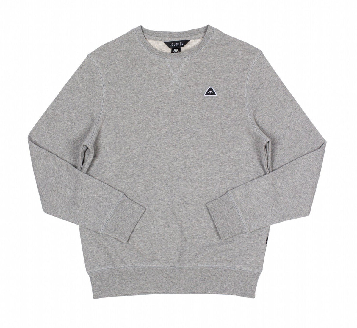 Eye Patch Crew-Gray Heather
