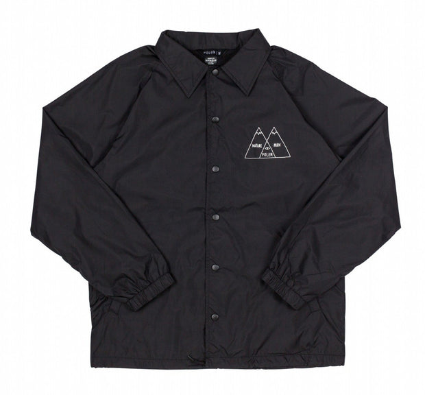 Venn Coaches Jacket - Black