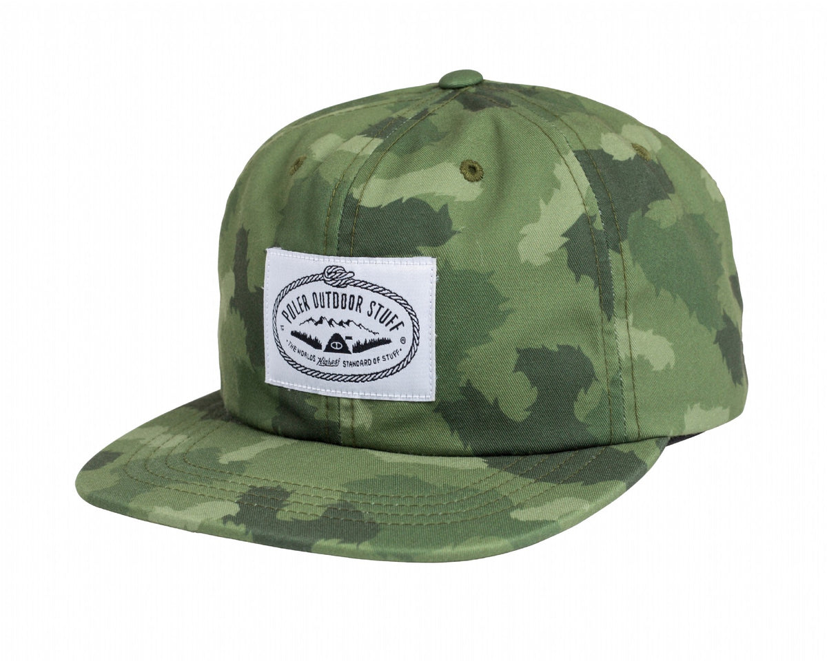 Lasso Label Nylon Floppy-Green Furry Camo
