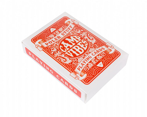 Polker Playing Cards-Orange