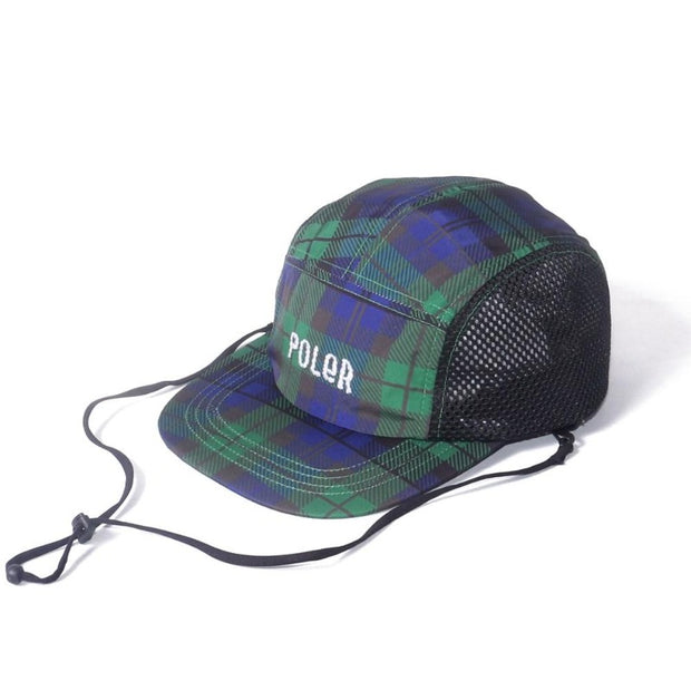 Furry Font 2way Drawcord Mesh Cap-Black Watch